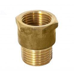 Fitting Adaptor 1/2 M/F Brass-0